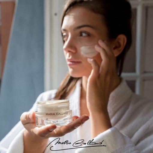 Jemná krémová maska Maria Galland 2