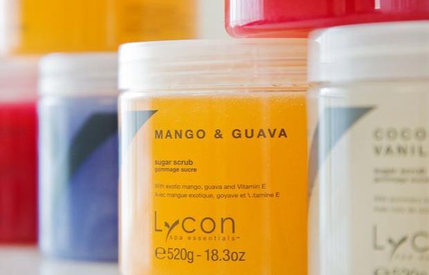 Lycon cukrový peeling MANGO & GUAVA