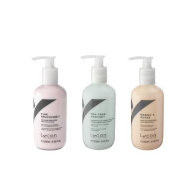 LYCON tělové mléko v různých parfemacích