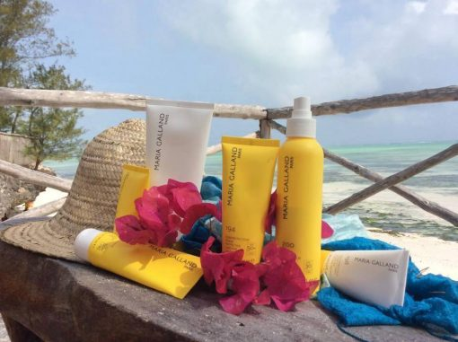 Pozdrav od naší klientky ze Zanzibaru. Vybrala si opalovací řadu Maria Galland.