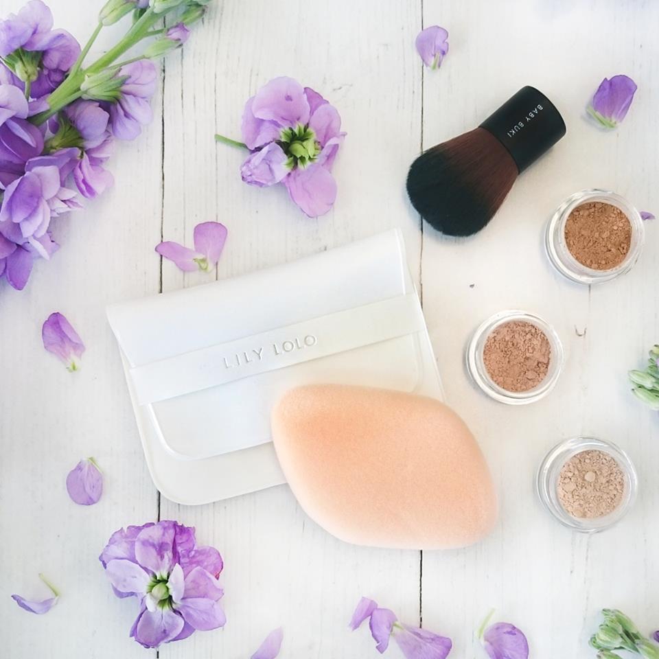 Kosmetická houbička na minerální make-up