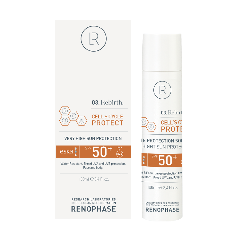 Laboratoires Renophase CELL´S CYCLE PROTECT opalovací krém s SPF 50
