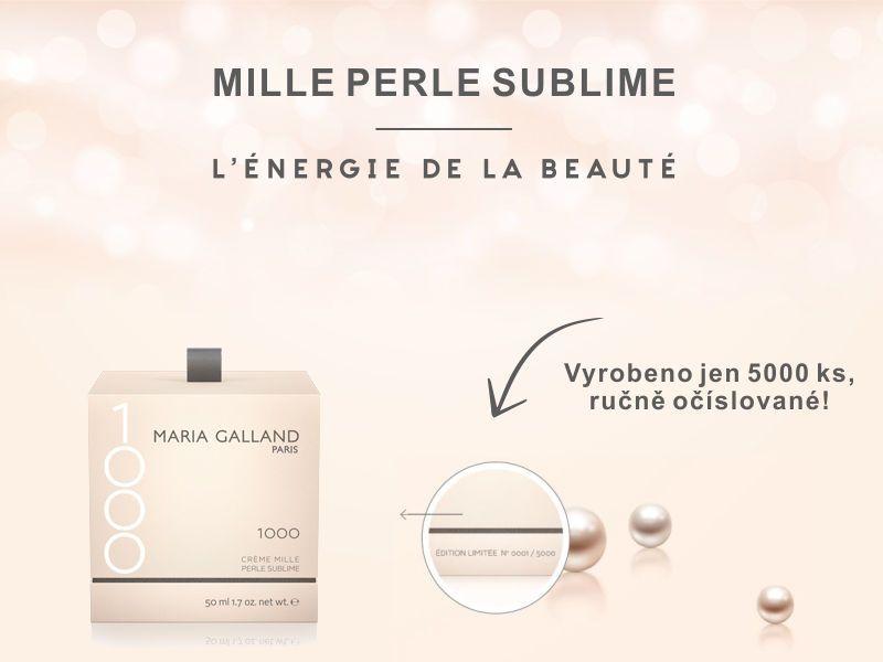 Mille Pearl Sublime - bylo vyrobeno jen 5000 ks a každý je ručně číslovaný.