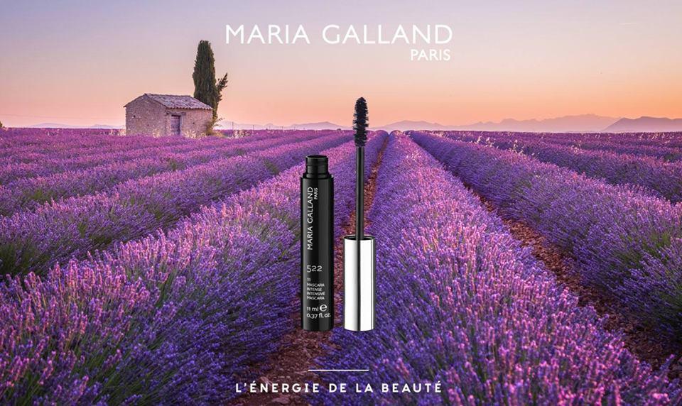 Řasenka v barvě levandule Maria Galland 522-11