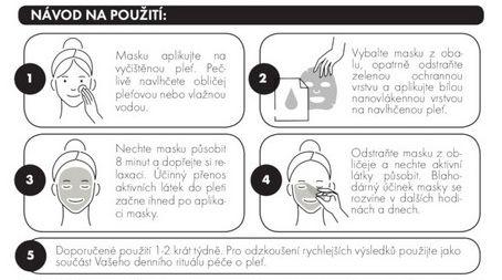 [n]fibrecare maska návod k použití