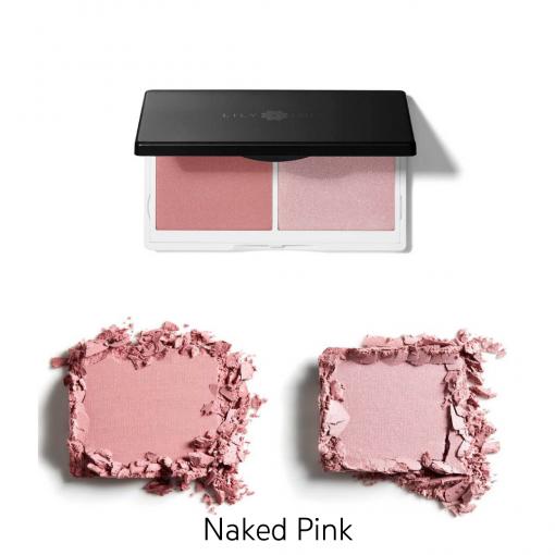Duo tvářenka naked pink Lily Lolo